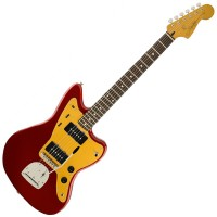 Photo SQUIER DELUXE JAZZMASTER TREMOLO CANDY APPLE RED