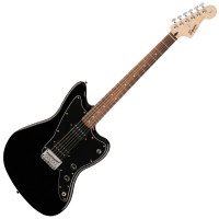 Photo SQUIER AFFINITY JAZZMASTER HH BLACK ROSEWOOD