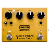 Photo MXR M287 SUB OCTAVE BASS FUZZ