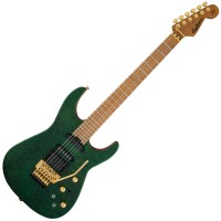 Photo JACKSON USA SIGNATURE PHIL COLLEN PC1 SATIN STAIN TRANSPARENT GREEN
