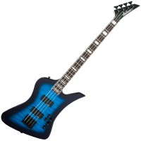 Photo JACKSON JS SERIES KELLY BIRD JS3Q TRANSPARENT BLUE BURST
