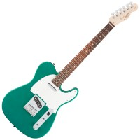 Photo SQUIER AFFINITY TELECASTER RACE GREEN ROSEWOOD