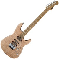 Photo CHARVEL GUTHRIE GOVAN SIGNATURE SAN DIMAS HSH FLAME MAPLE NATURAL