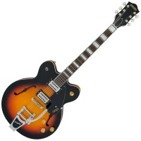 Photo GRETSCH GUITARS G2622T STREAMLINER BIGSBY AGED BROOKLYN BURST