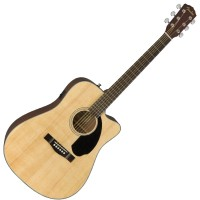 Photo FENDER CD-60SCE NATURAL