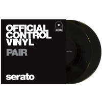 "Photo SERATO VINYL CONTROL TONE BLACK 7"" (LA PAIRE)"