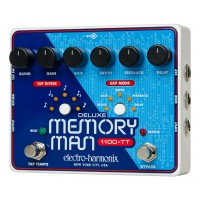 Photo ELECTRO HARMONIX DELUXE MEMORY MAN 1100-TT