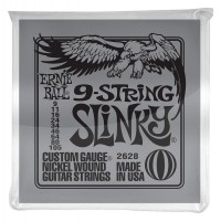Photo ERNIE BALL ELECTRIC 2628 SLINKY 9-STRING 9/105