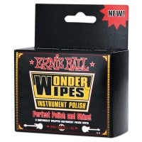 Photo ERNIE BALL WONDER WIPES INSTRUMENT POLISH 6 SACHETS