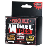 Photo ERNIE BALL WONDER WIPES MULTI-PACK