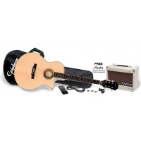Photo EPIPHONE PR-4E A/E PLAYER PACK NATURAL