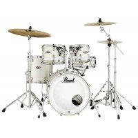 "Photo PEARL DECADE MAPLE 5 FÛTS FUSION 20"" WHITE SATIN PEARL"