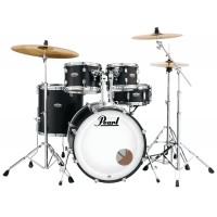 "Photo PEARL DECADE MAPLE 5 FÛTS ROCK 22"" SATIN SLATE BLACK"