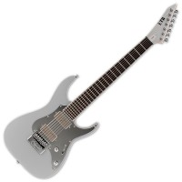 Photo ESP LTD SIGNATURE KEN SUSI KS M-7 EVERTUNE METALLIC SILVER