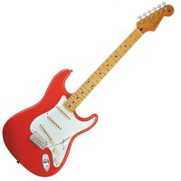Photo FENDER CLASSIC '50S STRATOCASTER FIESTA RED MAPLE