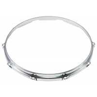 "Photo SPAREDRUM HS23-14-10 - CERCLE 14"" 10 TIRANTS S-STYLE TRIPLE FLANGE 2.3MM"