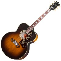 Photo GIBSON SJ-200 VINTAGE HAND RUBBED VOS VINTAGE SUNBURST