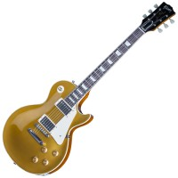 Photo GIBSON CUSTOM STANDARD HISTORIC 1957 LES PAUL ANTIQUE GOLD GLOSS