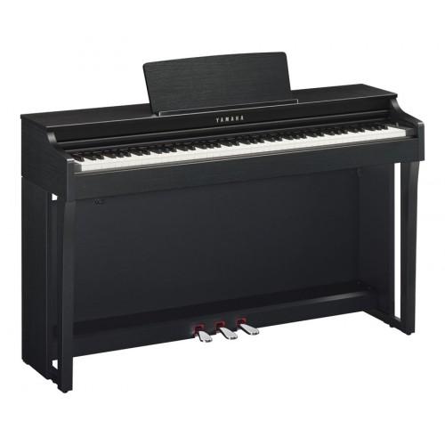 Yamaha clp 625b clavinova noyer noir achat piano for Meuble yamaha