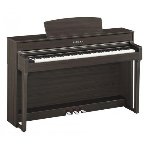 Yamaha clp 645dw clavinova noyer fonc achat piano for Meuble yamaha