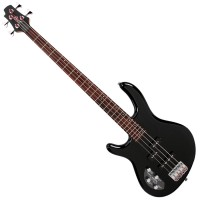 Photo CORT ACTION BASS PLUS BK BLACK GAUCHER