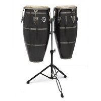 "Photo LP CONGAS HIGHLINE 10""/11"" STAIN BLACK LPH646-SBB"