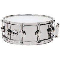 "Photo DW CAISSE CLAIRE 14X6.5"" COLLECTOR STEEL"