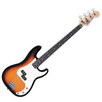 Photo FENDER STANDARD PRECISION BASS BROWN SUNBURST PF