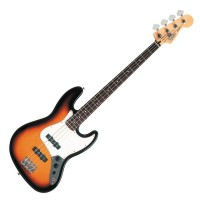 Photo FENDER STANDARD JAZZ BASS BROWN SUNBURST PF