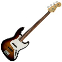 Photo FENDER STANDARD JAZZ BASS FRETLESS BROWN SUNBURST PF