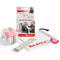 Photo ALPINE MUFFY BABY CASQUE DE PROTECTION BÉBÉ - PINK