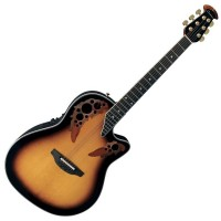 Photo OVATION ELITE DEEP CONTOUR CUTAWAY SUNBURST