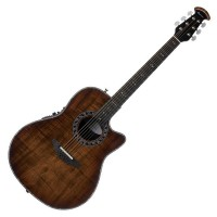 Photo OVATION LEGEND PLUS DEEP CONTOUR CUTAWAY KOA BURST