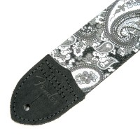 "Photo FENDER SANGLE PAISLEY 2"" GREY"
