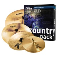 Photo ZILDJIAN K COUNTRY MUSIC SET