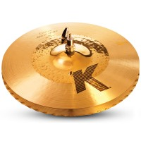 "Photo ZILDJIAN K CUSTOM 14"" HYBRID HATS RÉVERSIBLE"