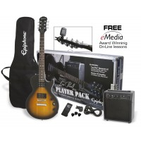Photo EPIPHONE LES PAUL PLAYER PACK VINTAGE SUNBURST