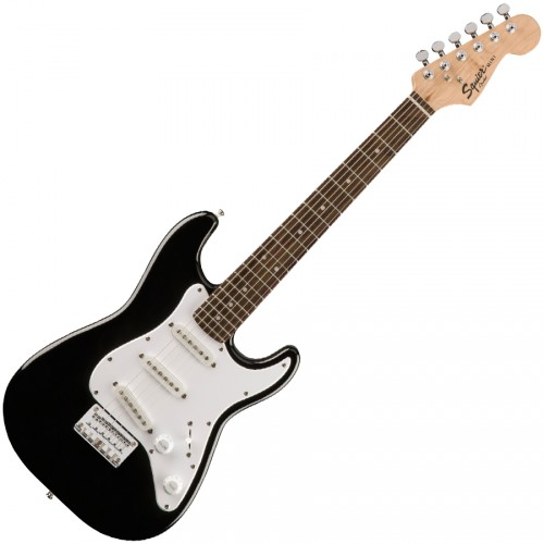 SQUIER MINI STRAT BLACK RW V2
