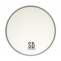 "Photo SPAREDRUM AS08CL - PEAU 8"" ALVERSTONE TRANSPARENTE"