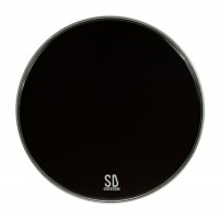 "Photo SPAREDRUM PK24DB-B - PEAU GC 24"" POWERKICK DARK BLACK"