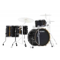 Photo TAMA ML40HZBN2-FBV - SUPERSTAR HYPER-DRIVE DUO 4 FÛTS FLAT BLACK