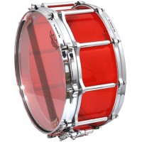 "Photo PEARL CAISSE CLAIRE CRYSTAL BEAT 14X6,5"" RUBY RED"