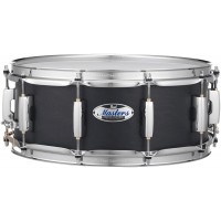 "Photo PEARL CAISSE CLAIRE MASTERS MAPLE COMPLETE 14X6,5"" MATTE CAVIAR BLACK"