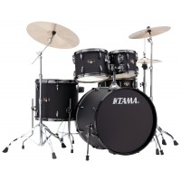 Photo TAMA IP52KH6N-BBOB - IMPERIALSTAR 5PC BLACKED OUT BLACK