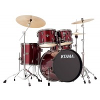 Photo TAMA IP50H6N-BVTR - IMPERIALSTAR 5PC VINTAGE RED