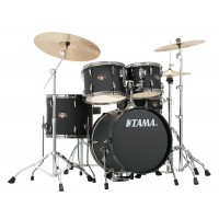 Photo TAMA IP58H6N-BBOB - IMPERIALSTAR 5PC BLACKED OUT BLACK