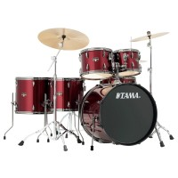 Photo TAMA IP62H6N-BVTR - IMPERIALSTAR 6PC VINTAGE RED