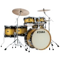 Photo TAMA VP62RS-VGD - SILVERSTAR CUSTOM 6PC VINTAGE GOLD DUCO
