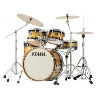 Photo TAMA VP50RS-VGD - SILVERSTAR CUSTOM 5PC VINTAGE GOLD DUCO