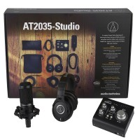 Photo AUDIO TECHNICA AT2035 STUDIO BUNDLE
